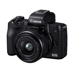 Fotocamera Mirrorless Canon EOS M50 Mark II kit 15-45mm IS STM Nero