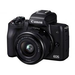 Fotocamera Mirrorless Canon EOS M50 Mark II kit 15-45mm IS STM Nero