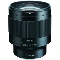 Obiettivo Tokina ATX-M 85mm F1.8 FE compatibile mirrorless Sony E
