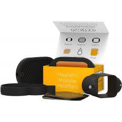 MagMod Basic Kit 3 MagGrip MagGrid MagGel Standard Gel filtri per flash