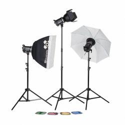 Quadralite Up! X 700 Kit Flash da Studio 700W (3 flash + accessori)
