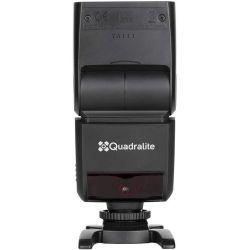 Quadralite Stroboss 36 flash a slitta TTL per fotocamere Micro Quattro Terzi MFT