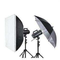 Quadralite Move X 300 Kit 2x flash da studio + 2x stativi