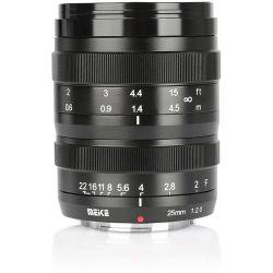 Obiettivo Meike MK-25mm F2.0 per mirroless Fujifilm