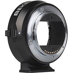 Meike adattatore da obiettivo Canon EF a fotocamera mirrorless Sony E-Mount