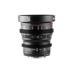 Obiettivo Meike MK-25mm T2.2 Cine per mirroless Fujifilm APS-C