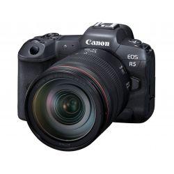 Fotocamera Mirrorless Canon EOS R5 Kit RF 24-105 f/4L (no adattatore)