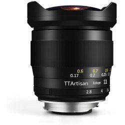 Obiettivo TTArtisan 11mm f/2.8 Full-Frame per mirrorless Sony E-Mount