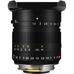 Obiettivo TTArtisan 21mm F1.5 per mirrorless Leica M nero (A03B)
