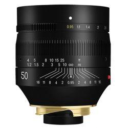 Obiettivo TTArtisan 50mm F0.95 per mirrorless Leica M nero (A04E)