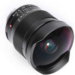 Obiettivo fish-eye TTArtisan 11mm F2.8 per mirrorless Leica M nero (A02B)