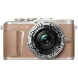 Fotocamera Mirrorless Olympus PEN E-PL10 Kit 14-42mm EZ marrone