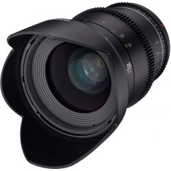 Obiettivo Samyang 35mm T1.5 VDSLR Mark II per mirrorless Sony E-Mount