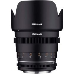 Obiettivo Samyang 50mm T1.5 VDSLR Mark II per reflex Canon EF