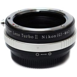 Zhongyi Mitakon Turbo adattatore II da obiettivo Nikon a fotocamera micro quattro terzi