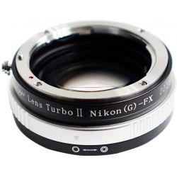 Zhongyi Mitakon Turbo adattatore II da obiettivo Nikon a mirrorless Fujifilm