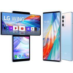 Smartphone LG Wing 5G Dual Sim 128GB Blue