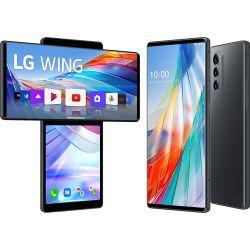 Smartphone LG Wing 5G Dual Sim 128GB Grigio