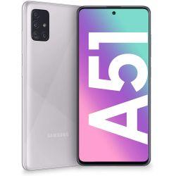 Smartphone Samsung Galaxy A51 A515 Dual Sim 4GB RAM 128GB Haze Crush Silver