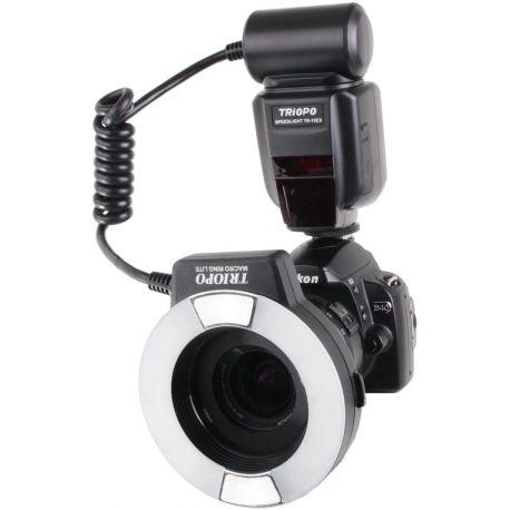 Triopo Flash anulare per fotocamere Nikon TR-15EX-N