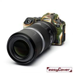 easyCover custodia protettiva in silicone mimetica per Canon R5 / R6