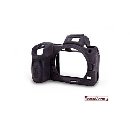 easyCover custodia protettiva in silicone nera per Nikon Z5 / Z6 Mark II / Z7 Mark II