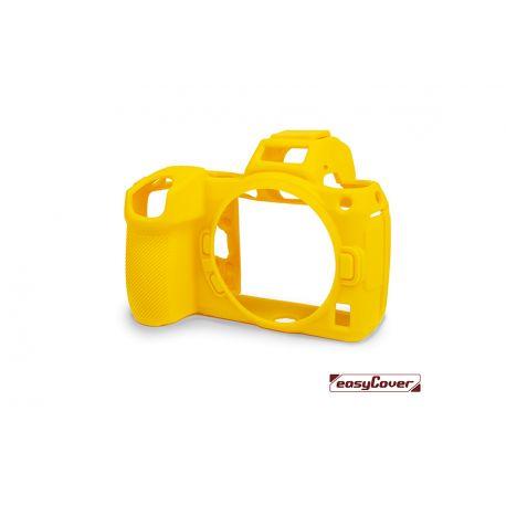 easyCover custodia protettiva in silicone gialla per Nikon Z5 / Z6 Mark II / Z7 Mark II