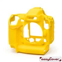 easyCover custodia protettiva in silicone gialla per Nikon D6