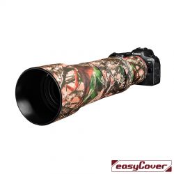 easyCover custodia in neoprene forest mimetico per obiettivo Canon RF 600mm F/11 IS STM lens oak