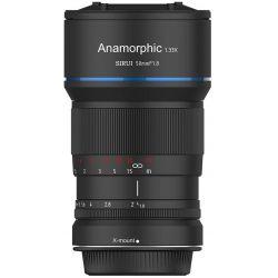 SIRUI Obiettivo 50mm F1.8 Anamorfico 1.33X per mirrorless Fujifilm X