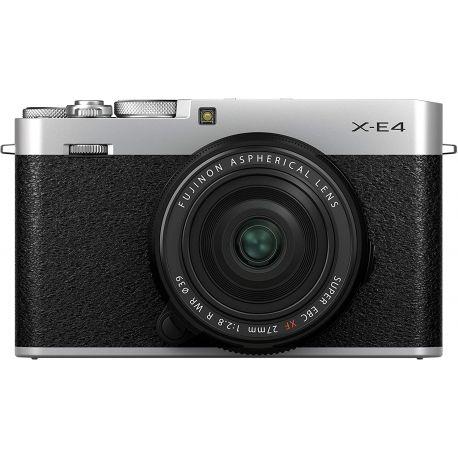 Fotocamera Mirrorless Fujifilm X-E4 kit 27mm f/2.8 silver