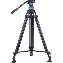 SIRUI SH25 Treppiedi Broadcast video in carbonio 10x con testa