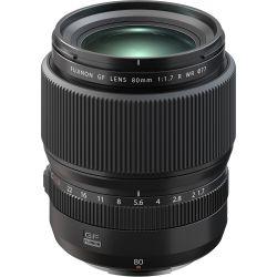 Obiettivo FUJINON GF 80mm f/1.7 R WR per mirrorless Fujifilm medio formato