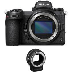 Fotocamera Mirrorless Nikon Z7 Mark II kit Body + adattatore
