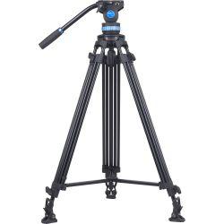 SIRUI SH15 Treppiedi Broadcast video in alluminio con testa