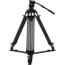 SIRUI BCT-2203 Treppiedi Broadcast Video in carbonio 10x con testa video BCH-10