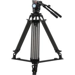 SIRUI BCT-2203 Treppiedi Broadcast Video in carbonio 10x con testa video BCH-20