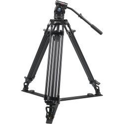 SIRUI BCT-2003 Treppiedi Broadcast video in alluminio con testa video BCH-10