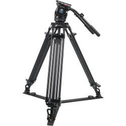 SIRUI BCT-2003 Treppiedi Broadcast video in alluminio con testa video BCH-20