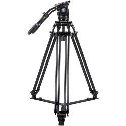 SIRUI BCT-3002 Treppiedi Broadcast video in alluminio con testa video BCH-30
