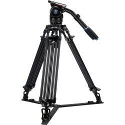 SIRUI BCT-3003 Treppiedi Broadcast video in alluminio con testa video BCH-30