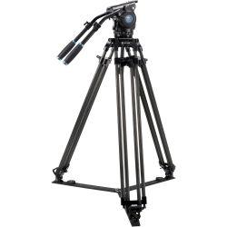 SIRUI BCT-3202 Treppiedi Broadcast Video in carbonio 10x con testa video BCH-30