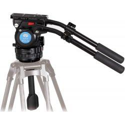 SIRUI BCH-20 testa video fluida per treppiedi serie BCT + testa 75mm half ball