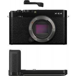 Fotocamera Mirrorless Fujifilm X-E4 body nero + impugnatura MHG-XE4