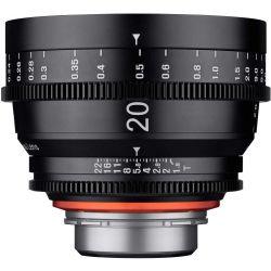 Obiettivo Samyang Xeen 20mm T1.9 compatibile mirrorless PL-mount