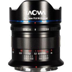 Obiettivo Laowa 9mm f/5.6 W-Dreamer FF RL per mirrorless Sony FE