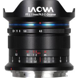 Obiettivo Laowa 11mm f/4.5 C-Dreamer FF RL per Leica M-Mount Nero