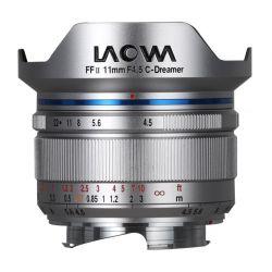 Obiettivo Laowa 11mm f/4.5 C-Dreamer FF RL per Leica M-Mount Silver