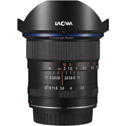 Obiettivo Laowa 12mm f/2.8 Zero-D per mirrorless attacco Canon RF