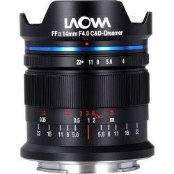 Obiettivo Laowa 14mm f/4 FF RL Zero-D per mirrorless Sony E-Mount